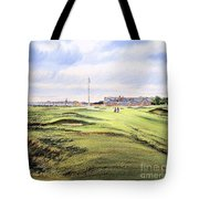 Royal Troon Golf Course Tote Bag