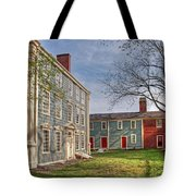 Royall House And Slave Quarters Tote Bag by Wayne Marshall Chase