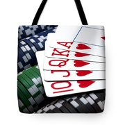 Royally Flushed Tote Bag