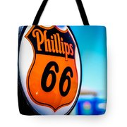 Rt. 66 Gas Pump Tote Bag