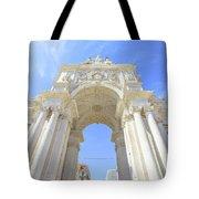 Rua Augusta Triumphal Arch Tote Bag