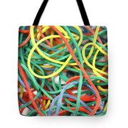 Rubber Bands Tote Bag