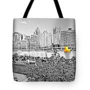 Rubber Duck - Pittsburgh, Pennsylvania Tote Bag