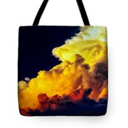 Rubber Ducky Elephant Clouds  Tote Bag