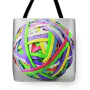 Rubberband Ball I Tote Bag