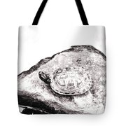 Rubbernecking Pond Turtle Tote Bag