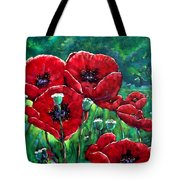 Rubies In The Emerald Forest Tote Bag