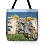 Ruby Bay. Leftovers Of The Wall. Tote Bag
