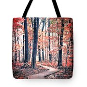 Ruby Forest Tote Bag