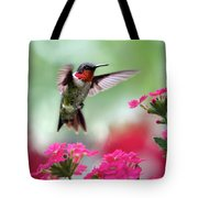 Ruby Garden Jewel Tote Bag