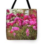 Ruby Like Flora Tote Bag