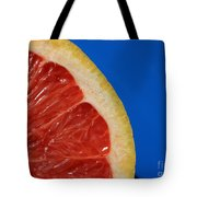 Ruby Red Grapefruit Quarter Tote Bag
