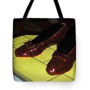 Ruby Slippers On The Yellow Brick Road Tote Bag