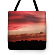 Ruby Sunset Tote Bag