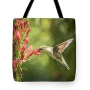 Ruby Throated Hummingbird 2-2015 Tote Bag