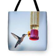 Ruby-throated Hummingbird 4 Tote Bag