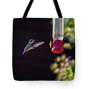 Ruby-throated Hummingbird Tote Bag