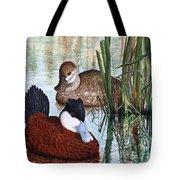 Ruddy Ducks Tote Bag
