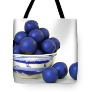 Rudraksha Tree Seeds In Vintage Bowl Tote Bag