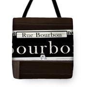 Rue Bourbon Street - New Orleans Tote Bag