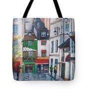 Rue Galande, Paris Tote Bag