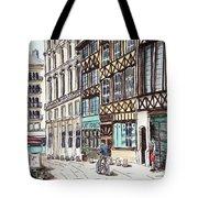 Rue Malpalu, Rouen, France II Tote Bag
