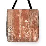 Rue Saint-severin Tote Bag