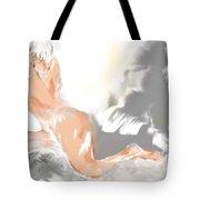 Ruffled Bed Tote Bag
