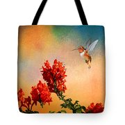 Rufous Dream Tote Bag