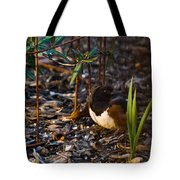 Rufous Sided Towhee At A Glance Tote Bag