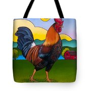 Rufus The Rooster Tote Bag