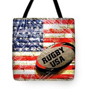 Rugby Football  Tote Bag