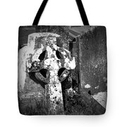 Rugged Cross At Fuerty Cemetery Roscommon Ireland Tote Bag