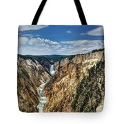 Rugged Lower Yellowstone Tote Bag