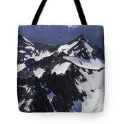 Rugged Mountain Peaks Tote Bag