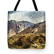 Rugged Mountains Of North India Tote Bag