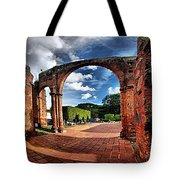 Ruinas En Altagracia Tote Bag