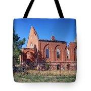 Ruined Church In Rural Utah Tote Bag