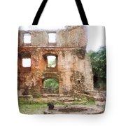 Ruins Tote Bag
