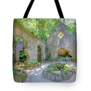 Ruins Of Chapel Sintra Tote Bag