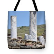 Ruins Of Delos Tote Bag