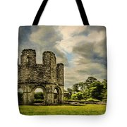 Ruins Of Mellifont Abbey Tote Bag by Jeffrey Kolker