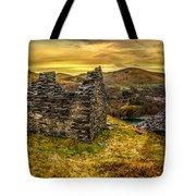 Ruins Of Snowdonia Panorama Tote Bag
