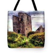 Ruins Of The Old Tin Mine Tote Bag