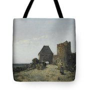 Ruins Of The Rosemont Castle  Tote Bag