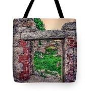 Ruins Of White's Factory - Doorways Tote Bag