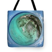Rum Point Little Planet Tote Bag