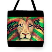 Rum Shack Zen Lion Tote Bag