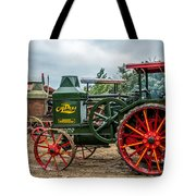 Rumley Oil Pull Tractor Tote Bag