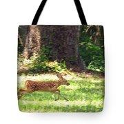 Run Bambi Run Tote Bag